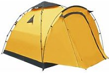 Pop Up Camping Tent 3 Person Yellow - Yellow -