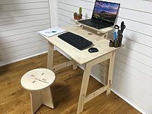 Pop up homeworker/student desk with shelf and