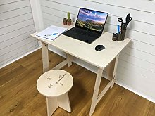 Pop up homeworker/student desk with stool -