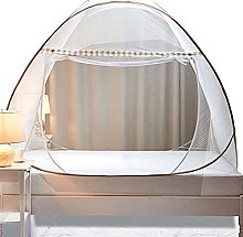 Pop Up Mosquito Net with Zipper, Foldable Double