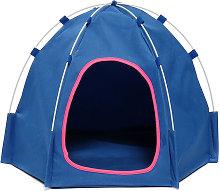 Pop Up Pop Up Dog Tent Blue Cat