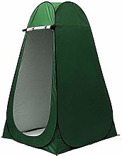 Pop Up Privacy Tent, Camping Toilet with Storage
