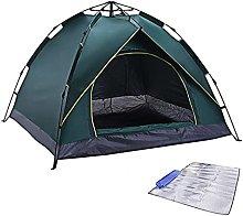 Pop Up Tent, 3-4 Man Tents, Waterproof & UV