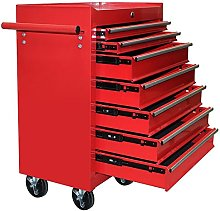 Popamazing Metal Tool Chest Cabinet with Lockable