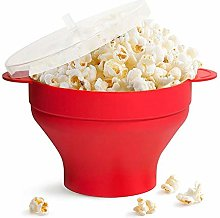 Popcorn Bowl Silicone Microwave Reusable Silicone