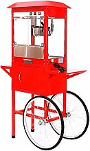 Popcorn Machine and Cart, Electric Automatic