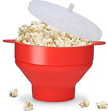 Popcorn Maker Bowl, Microwave Silicone Popcorn