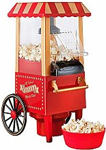 Popcorn Maker Cart, Oil-Free Fun Fairground Party