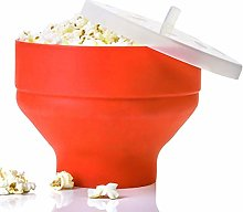 Popcorn Maker Microwave, Collapsible Silicone