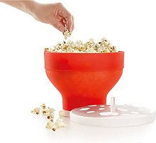 Popcorn Popper with Lid Silicone Microwave Popcorn