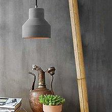 Popertr Cement Pendant Lamp Antique Light