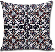 popluck Armenian Pattern Wall Art Square Pillow