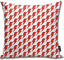 popluck Bowie Ziggy Home Decorative Throw Pillow