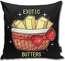 popluck Fnaf Exotic Butters Square Pillow Office