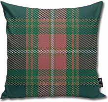 popluck Gallagher Ancient Tartan Square Pillow