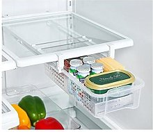 Popowbe Fridge Mate Refrigerator Pull Out Bin and