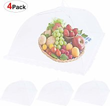 Popup Mesh Food Covers 4 Pack Reusable&Collapsible