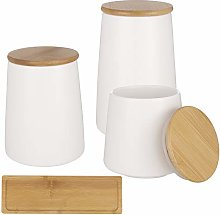 Popuppe Ceramic Food Storage Canister with