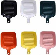 Porcelain Bakeware Set for Cooking, Matte Ceramic