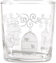 PORCELLANA GB Aviary Babila Tumbler, Porcelain,