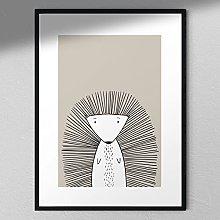 Porcupine Print - Wall Art | Child Room | Kids