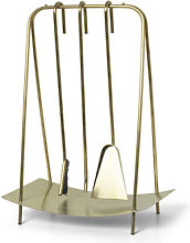 Port fireplace set - / 3 tools with stand by Ferm