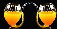 Port Sipper Glasses - Set of 2, Glass Liqueur with
