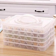 Portable 4 Layers Non Stick Storage Box With Lid