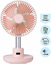 Portable 7-inch Desk Table Fan with USB Charged