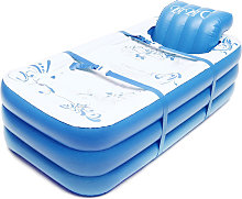 Portable Adults Children Pvc Inflatable Bathtub