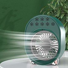 Portable Air Conditioner Fan with Color Changing