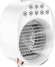 Portable Air Cooling Fan w/ Night Light Air