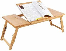 Portable Bamboo Stand Laptop Table Laptop Computer