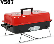 Portable Barbecue Charcoal Grill Stainless Cooking