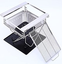 Portable Barbecue Grill with Grill Gate and bottom
