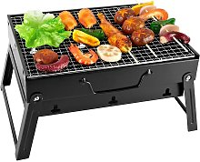 Portable Barbecue Mini Foldable Charcoal BBQ Grill