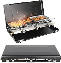 Portable Barbecue Stove Charcoal BBQ Grill Patio