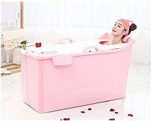 Portable Bathtub Soaking Bath Tub for Shower Stall