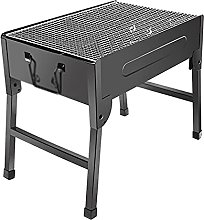 Portable BBQ Grill Folding Charcoal Barbecue,