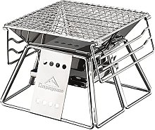 Portable BBQ Grill Stainless Steel Outdoor
