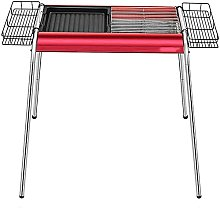 Portable BBQ Stainless Steel Barbecue Grill Garden
