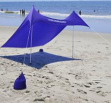 Portable Beach Garden Tent Beach Sun Shade Shelter