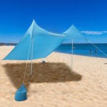 Portable Beach Tent Sun Shade Sail Outdoor UV