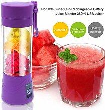 Portable Blender Bottle USB Fruit Mixer Cup Mini