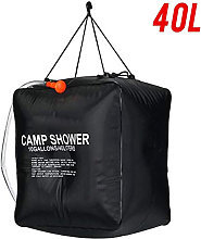 Portable Camping Shower Bag, 40L Solar Shower Bag