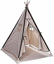 Portable Canvas Children Indian Tent Teepee Play