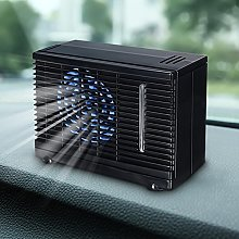 Portable Car Cooling Air Fan 12V Auto Vehicle Van