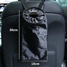 Portable Car Seat Back Garbage Bag,Car Auto Trash