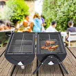 Portable Charcoal BBQ Grill Homcom®