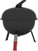 Portable Charcoal Grill 32cm with lid - Tramontina